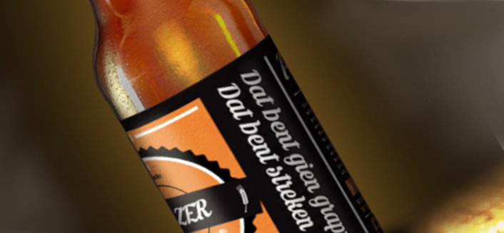 Bierproeflokaal Peizer Hopbel Bier: dat bent gien grappen dat bent streken