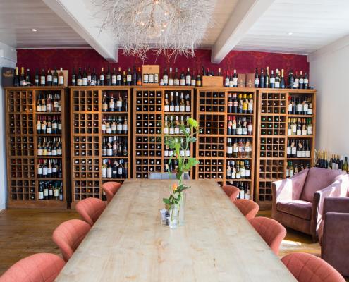 Wijnkamer in De Peizer Hopbel