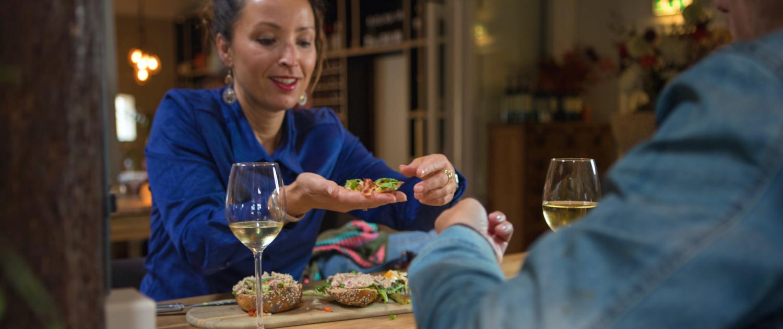 Heerlijk eten bij dinercafé De Peizer Hopbel